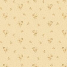 Linen Closet By One Sister Designs For Henry Glass - Tan Flower Bunches