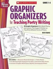 Graphic Organizers for Teaching Poetry Writing: 20 Graphic Organizers Grades 1-3