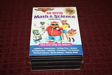 Rock 'N Learn 10 DVD Math & Science Collection *Brand New Sealed*