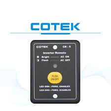 CR5 COTEK REMOTE CONTROL FOR S1500 POWER INVERTER