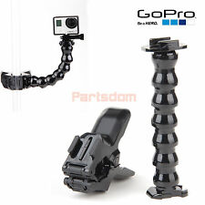 Gopro Hero 4 3+ 3 2 1 Camera Accessories Jaws Flex Clamp Mount + Adjustable