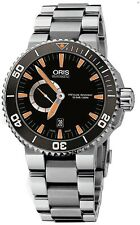 74376734159MB | ORIS AQUIS SMALL SECOND DATE DIVERS | BRAND NEW MENS WATCH