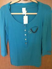 VDP CLUB EMBELLISHED TOP, NWT. SIZE 42IT, 8US