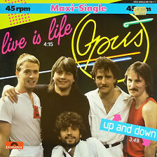 """12"""" Maxi - Opus - Live Is Life - B90 - washed & cleaned"""