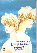 Romanzo a Fumetti CON GLI OCCHI APERTI - Keiko Ichiguchi - Kappa Edizioni