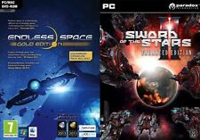 Endless Space Gold Edition & Sword of the Stars II Enhanced Edition  new&sealed