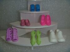 Barbie Shoes - A 6 Pack Variety and Style & Color 6BP-3