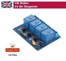Four 4 Channel 5V  Relay Module Arduino Raspberry Pi NEW