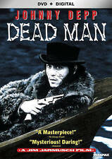 DEAD MAN Johnny Depp DVD + Digital Download NEW