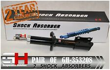 2 BRAND NEW FRONT GAS SHOCK ABSORBERS FOR MAZDA DEMIO (DW) /// GH 353208 ///