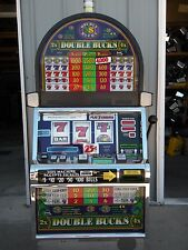 """IGT S2000 """"DOUBLE BUCKS"""" RT SLOT MACHINE (COINLESS) with TICKET PRINTER"""