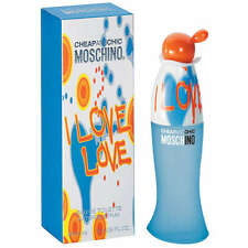MOSCHINO CHEAP AND CHIC I LOVE LOVE EDT 100 ml ORIGINALE IN CONFEZIONE