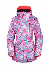 2017 NWT 686 Authentic Eden Womens Snowboard Jacket S Small 10K Poppy ay94