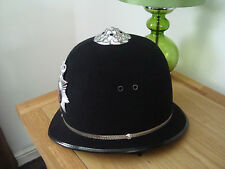 OBSOLETE SUPERB SURREY CONSTABULARY PC/SGTs  HELMET 59CM