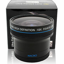 58MM Super Wide Angle Macro Fisheye Lens for Canon EF 50mm f/1.8 II SLR Camera