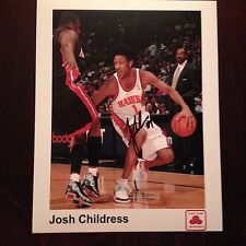 Josh Childress autograph signed 8 x 10 inch photo Atlanta HAWKS Stanford