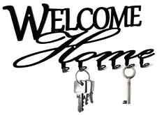 Welcome Home Schlüsselbrett -  Hakenleiste Schlüssel, key hook board Metall NEU
