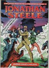 JONATHAN STEELE NUMERO ZERO N.0 albetto speciale comiconvention hotel QUARK 1997