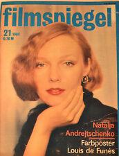 FILMSPIEGEL - 21/1984 - NATALJA ANDREJTSCHENKO - POSTER LOUIS DE FUNES FS 32