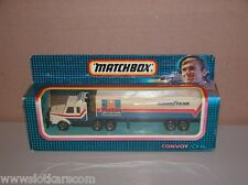 Matchbox Convoy CY18 Scania transport Vector Goodyear Neuf/Boite ! (  #A4  )