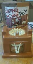 Vintage 1975 Mattel The Knitting Machine with Project Book