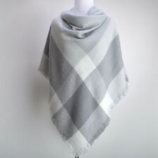 New Oversized Tartan Plaid Checked Blanket Wrap Pashmina Shawl Scarf Scarves