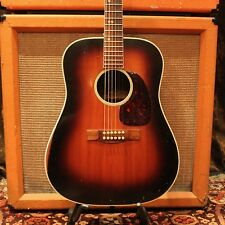 Vintage 1967 Levin (Martin) LN26 Goliath Made in Sweden Sunburst Acoustic Guitar
