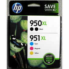 5-PACK HP GENUINE 950XL Black & 951XL Color Ink (RETAIL BOX) OFFICEJET PRO 8700