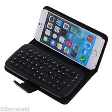 Wireless Bluetooth QWERTY Keyboard Flip Case Cover for Apple iPhone 6 4.7 inches