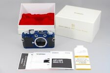 Voigtlander Bessa T 35mm Rangefinder Film Camera 101 Years Blue w/Box Japan 182