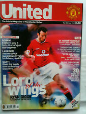 No 115 Manchester United Official Magazine May 2002