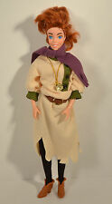 "RARE 1997 Peasant Anya 12"" Galoob Action Figure Doll Anastasia by Don Bluth"