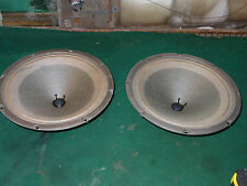 "Vintage pair/2 late 1970s Rola for Stereo/  Inst. 8-ohm 12"" Low-watt Speakers"