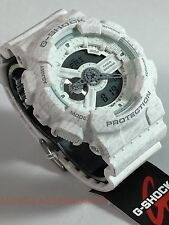 24 Hour Sale: G-Shock GA110HT-7A Casio Heathered Series White Men's Watch