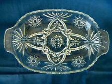 Anchor Hocking Divided Relish Dish EAPC Early American Prescut