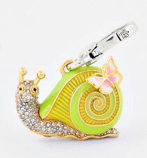 NEW Juicy Couture Charm Pave Snail