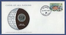 Numisbrief Coins of all Nations Turks Caicos Is. 1982 - 1/4 Crown 1981 NB-A14/12