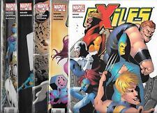 EXILES LOT OF 5 - #51 #52 #53 #54 #55 (NM-) X-MEN