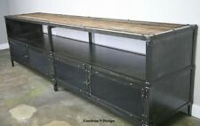 Media console/TV Stand. Vintage Industrial. Reclaimed Wood. Buffet/Sideboard