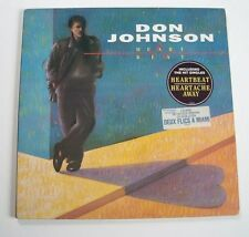 "Don JOHNSON ""Heartbeat"" (Vinyle 33t / LP) 1986"