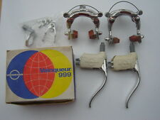 WEINMANN VAINQUEUR 999 CENTER PULL BRAKE SET 610/750 - RED LABEL - NOS - NIB