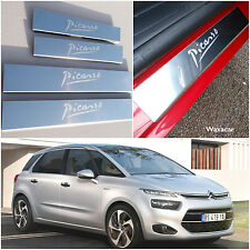 C4 Picasso Mk2 (2013-Now) Stainless Steel Kick Plate Door Sill Protectors - K07X