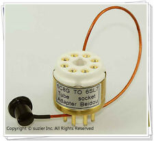 1 × 6F8G 6C8G To 6SN7 6SL7 Vacuum Tube Amplifier Convert Socket Adapter
