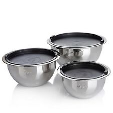 Wolfgang Puck 6 piece Stainless Steel Mixing Bowl Set WP6MXBL14