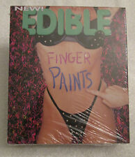4 Edible Finger Paints Adult Body Paint Erotic Fruit Flavors Hot Sexy Love Gift