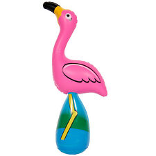 Inflatable Flamingo Pink 54cm Tall Party Decoration Accessory