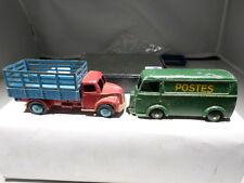 Dinky VINTAGE 25 B Peugeot D 3 A Postal Truck 343 Dodge Stake Body Truck