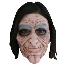 Old Lady 2 PC Moving Mouth Ghoulish Adult Latex Halloween Mask