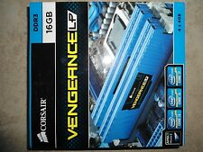 *NEW* CORSAIR VENGEANCE Blue LP *Low Profile* 16GB (4x4GB) DDR3 15000 1866 *1.5V
