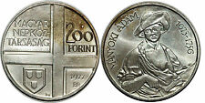 HUNGARY 200 FORINT 1977 KM#610  SILVER 0.640